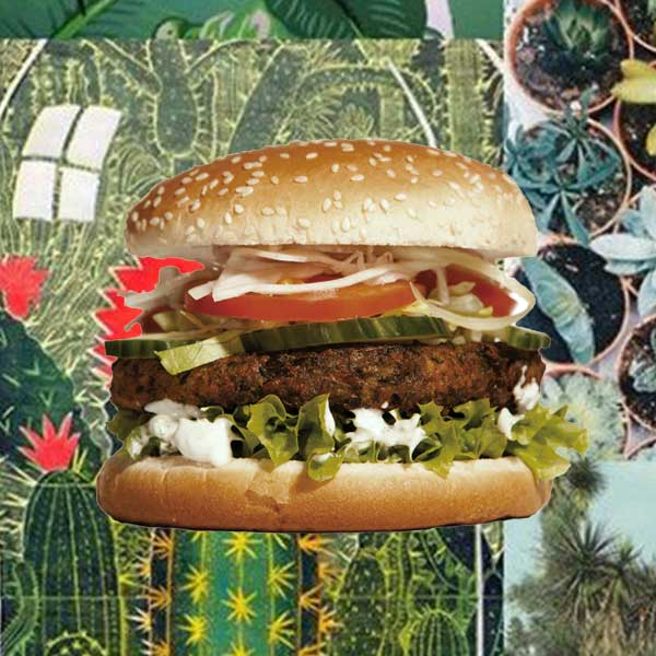 NATURAL BORN VEGGIE (Vegetarischer Cheeseburger)